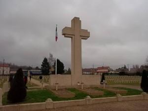 Faubourg Pavé cemetery in Verdun