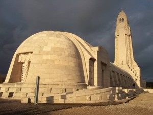 Verdun ossuary from outside
