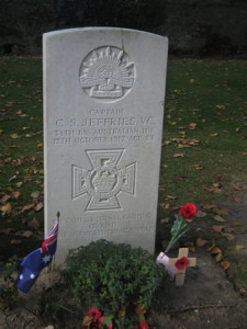 Captain CS Jeffries VC