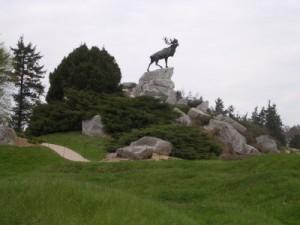 Caribou Memorial, Newfoundland Park
